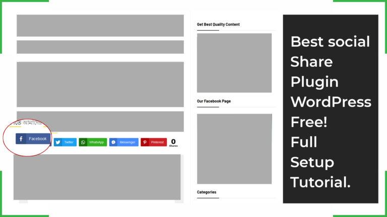 Best social share plugin WordPress free!