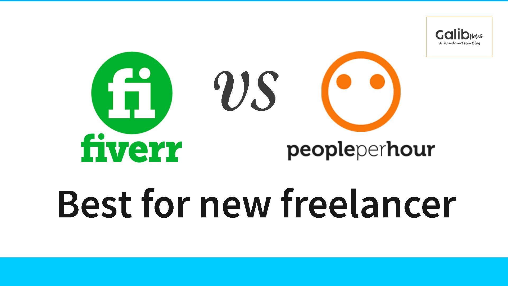 Fiverr vs PeoplePerHour, top freelancing sites for beginners, greensoft dhaka