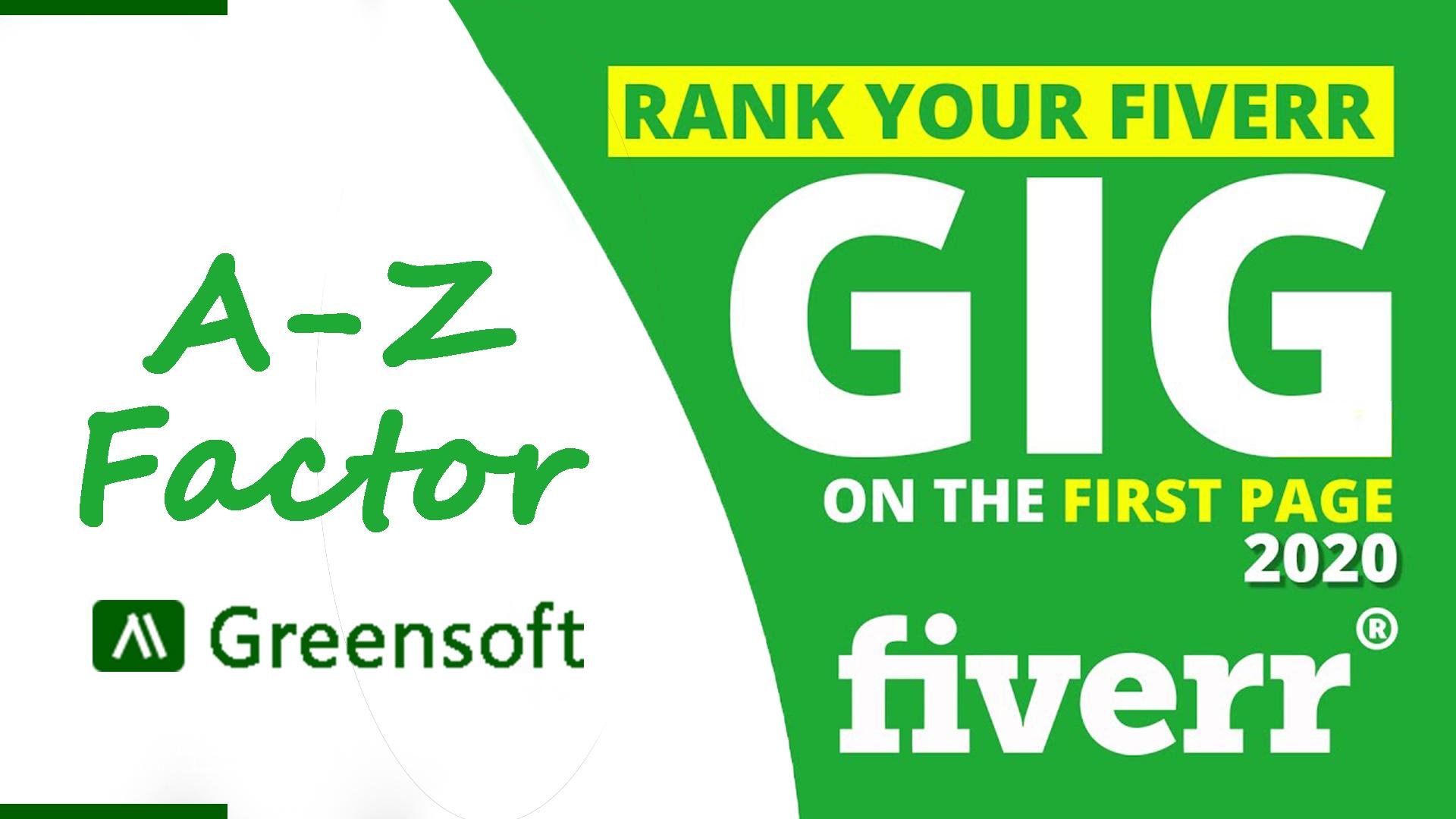 Fiverr gig ranking formula, greensoft dhaka