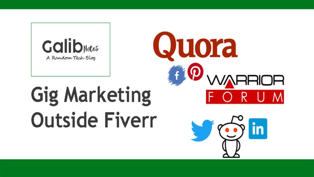 Fiverr gig promotion ideas, greensoft Dhaka
