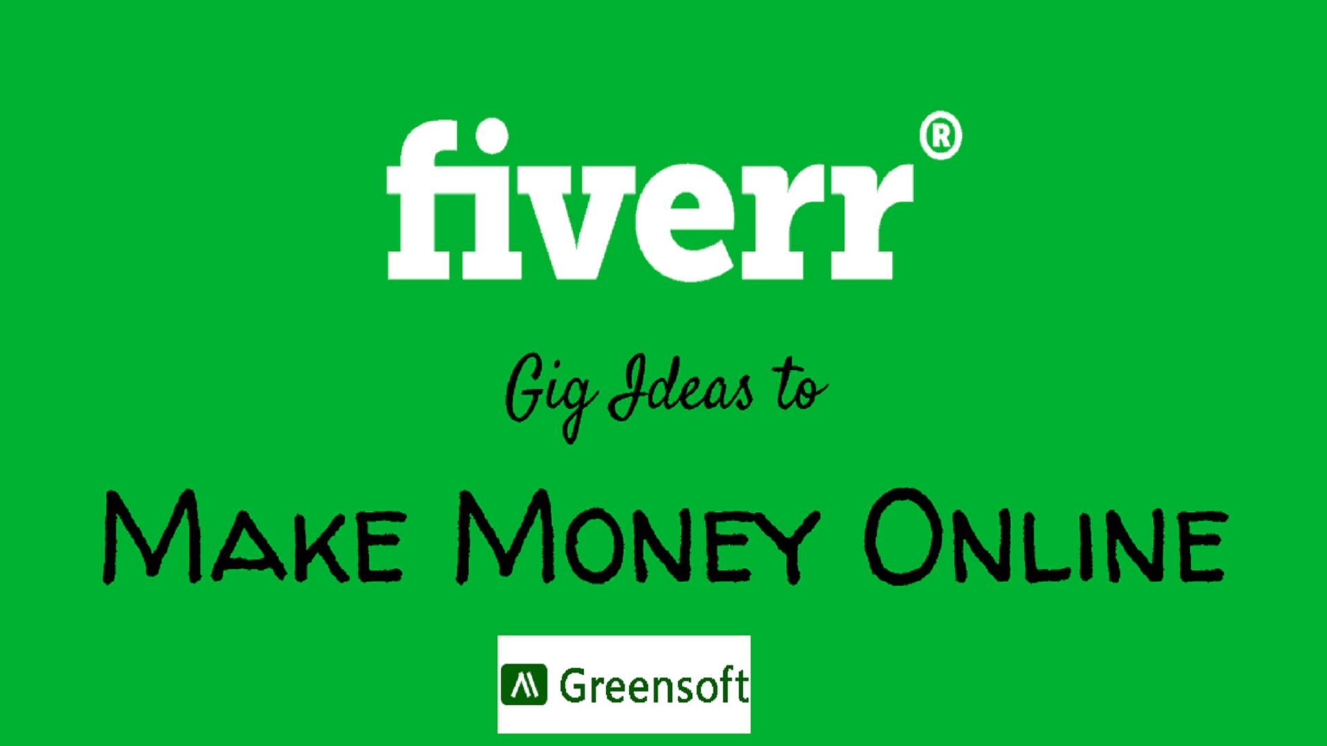 best selling gig on fiverr