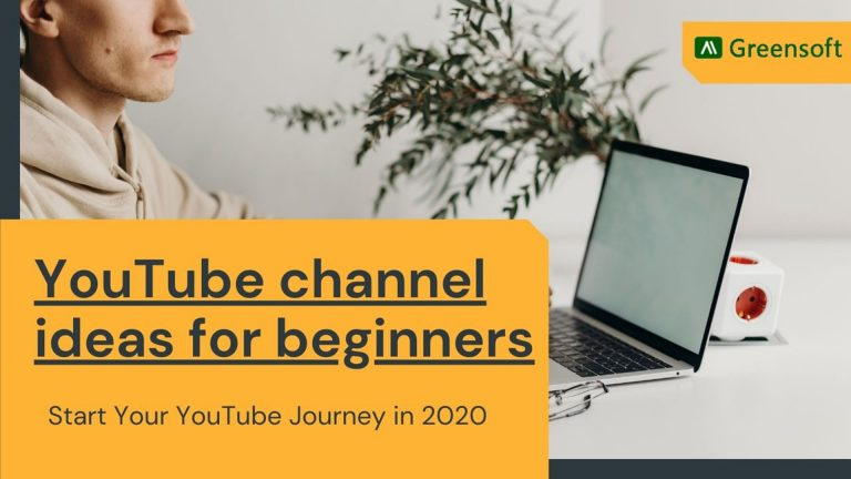 14 Awesome YouTube channel ideas for beginners