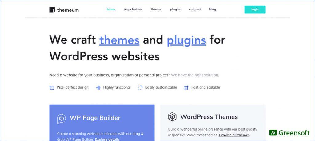 Themeum - WordPress Company in Bangladesh - Greensoft