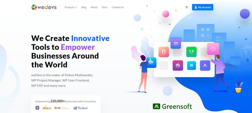 weDevs - WordPress Development Company in Bangladesh - Greensoft